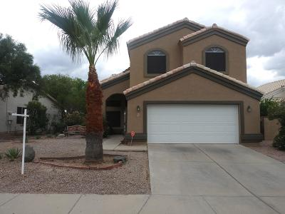 Tucson Single Family Home For Sale: 5267 W Fireopal Way