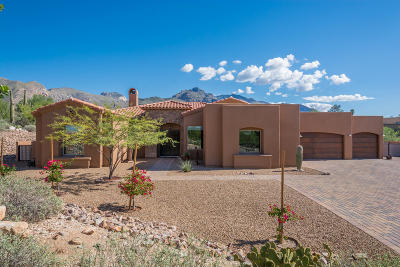 Pima County Single Family Home Active Contingent: 7059 N Skyway Drive