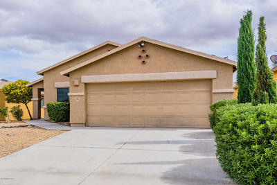 Pima County, Pinal County Single Family Home Active Contingent: 6261 S High Hope Lane