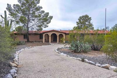 Tucson Single Family Home For Sale: 8135 N Placita Chula