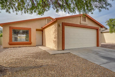 Pima County Single Family Home Active Contingent: 5338 S Via Galapagos