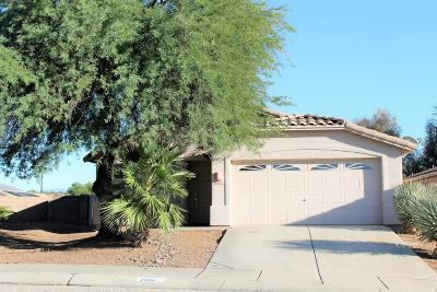Tucson Single Family Home For Sale: 2288 W Enchantment Place