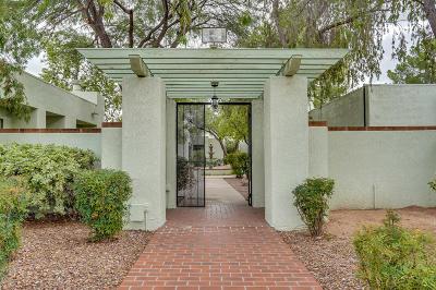 Tucson Townhouse For Sale: 7845 N Calle De La Aldea