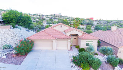 Tucson Single Family Home Active Contingent: 4408 N Ocotillo Canyon Drive