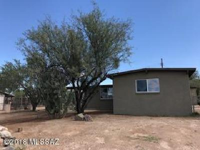 Tucson Single Family Home For Sale: 934 W Connecticut Drive