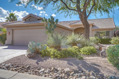 Saddlebrooke Single Family Home Active Contingent: 65855 E Rose Crest Drive