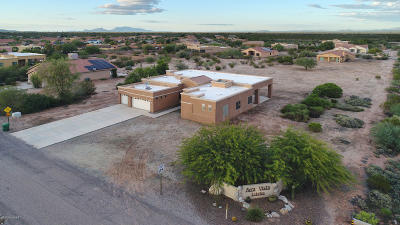 Marana Single Family Home For Sale: 10014 N Avra Vista Drive