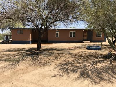 Pima County, Pinal County Manufactured Home For Sale: 12807 S Rustic Desert Lane
