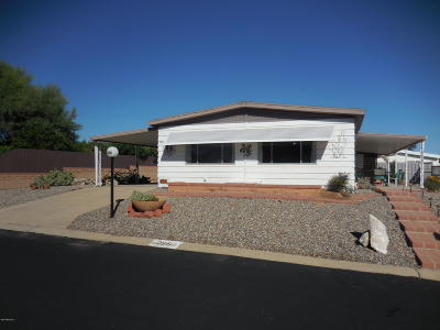 Pima County, Pinal County Manufactured Home Active Contingent: 256 W Cumaro