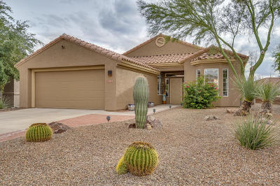 Marana Single Family Home Active Contingent: 12930 N Sunrise Canyon Lane