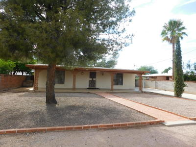 Tucson Single Family Home For Sale: 2153 N Edison Terrace