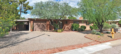Tucson Single Family Home Active Contingent: 2101 E La Madera Drive