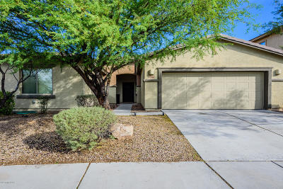 Pima County, Pinal County Single Family Home Active Contingent: 7569 E Picket Fence Lane