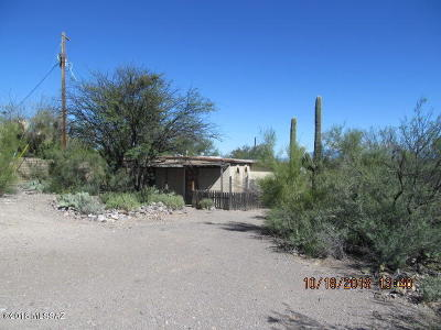 Tucson Single Family Home Active Contingent: 2735 S Jeftoria Road