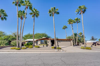 Tucson Single Family Home For Sale: 321 N Bunker Hill Drive
