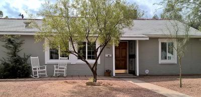 Tucson Single Family Home For Sale: 3942 E Justin Lane