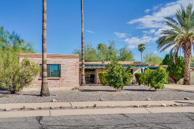 Tucson Single Family Home Active Contingent: 2524 W Calle Paraiso