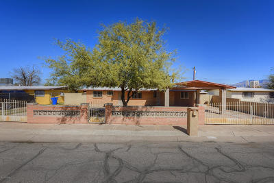 Pima County Single Family Home For Sale: 1838 W Linden Street