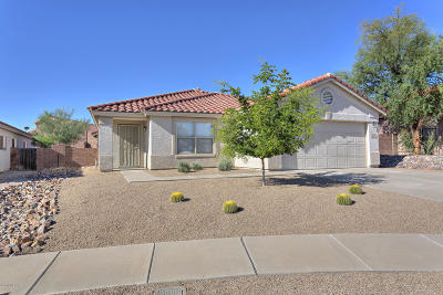 Tucson Single Family Home Active Contingent: 3431 N Oak Springs Court