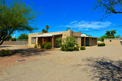 Tucson Residential Income For Sale: 1530 W Wetmore Road #1 & 2