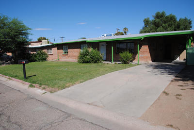 Tucson Single Family Home For Sale: 1526 W Kilburn Street