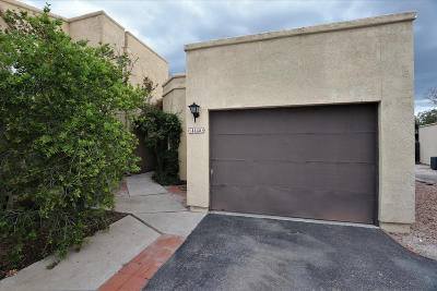 Tucson Townhouse For Sale: 4445 W Pyracantha Drive