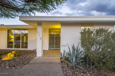 Tucson Single Family Home For Sale: 618 N Camino Miramonte