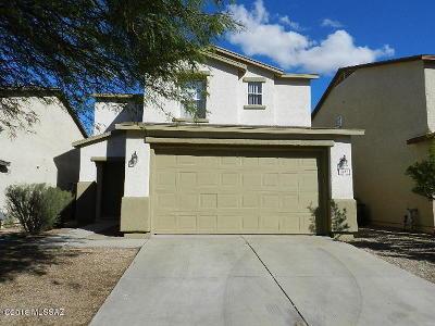Tucson AZ Single Family Home For Sale: $176,000