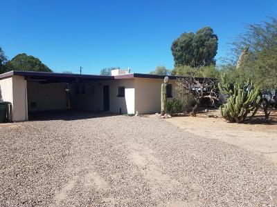 Tucson AZ Single Family Home For Sale: $158,500
