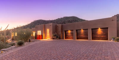 Marana Single Family Home Active Contingent: 5259 W Gallery Canyon Place
