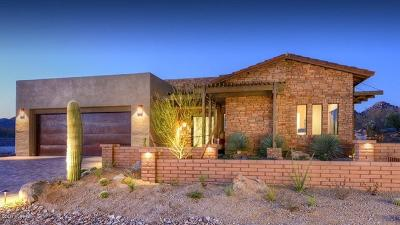 Pima County Single Family Home Active Contingent: 14170 N Rock Haven Place #Lot 14E