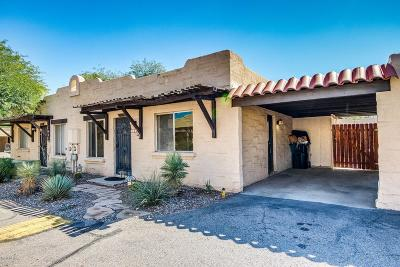 Tucson Townhouse For Sale: 1909 W Amy Drive