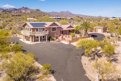 Tucson Single Family Home For Sale: 4401 W Westhaven Circle