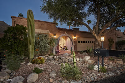 Tucson Townhouse For Sale: 6432 N Val Dosta Drive