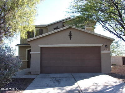 Tucson Single Family Home Active Contingent: 1469 W Beantree Lane