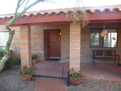 Tucson Single Family Home For Sale: 2955 W Gymkhana Way