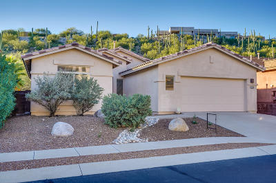 Tucson Single Family Home For Sale: 4373 N Sunset Cliff Drive