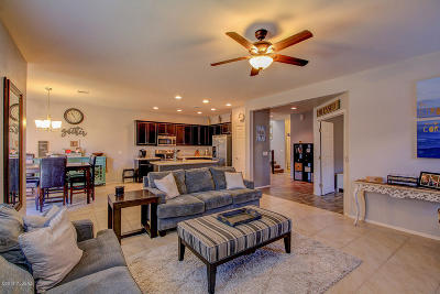 Tucson Single Family Home Active Contingent: 8764 N Black Pine Drive