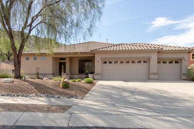 Tucson Single Family Home Active Contingent: 7754 E McGee Mountain Road