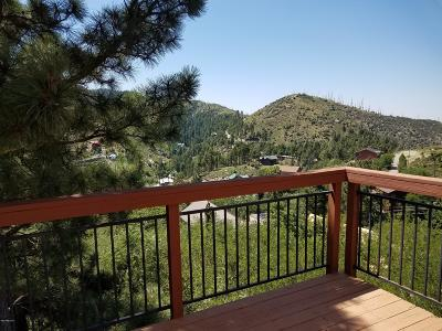 Mt. Lemmon Single Family Home For Sale: 12897 N Ajo Avenue N