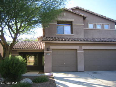 Tucson Single Family Home For Sale: 4201 N Sunset Cliff Drive