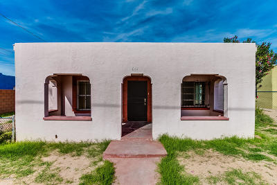 Tucson Single Family Home Active Contingent: 644 W 42nd Street