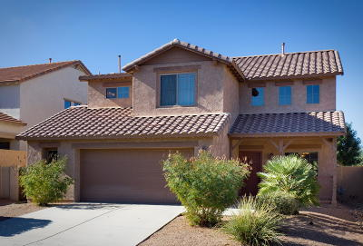 Pima County Single Family Home Active Contingent: 576 W Camino Curvitas