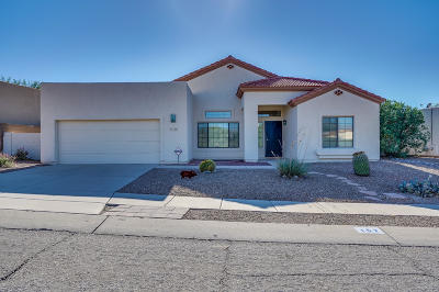 Pima County, Pinal County Single Family Home Active Contingent: 157 N Southern Swale Avenue
