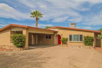 Tucson Single Family Home Active Contingent: 5311 E Willard Street