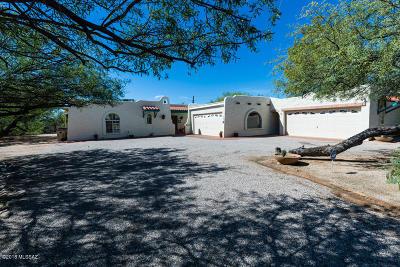 Tucson Single Family Home Active Contingent: 7928 E Coronado Road