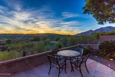 Tucson Single Family Home For Sale: 4887 N Bonita Ridge Avenue