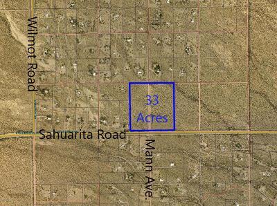 Sahuarita Residential Lots & Land For Sale: E Sauarita Road E