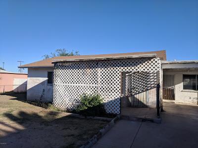 Tucson Single Family Home For Sale: 2126 E Hidalgo Vista