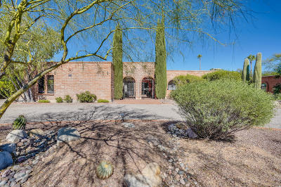 Tucson Single Family Home Active Contingent: 3755 N Knollwood Circle